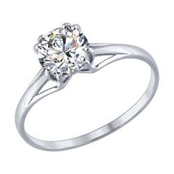женские кольца из серебра
