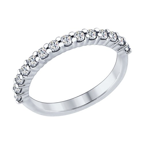 купить кольцо дорожку с фианитами