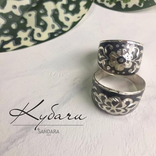казахские кольца из серебра