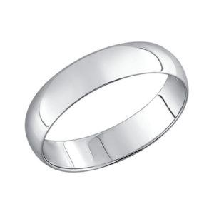 Мужское обручальное кольцо серебро Алматы