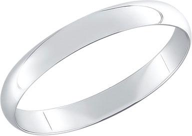 обручальное серебряное кольцо 94110002