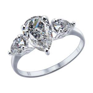 купить кольцо камень капля